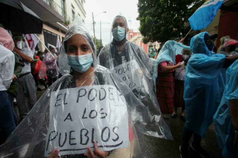 Thousands take to roads in Guatemala calling for President's resignation