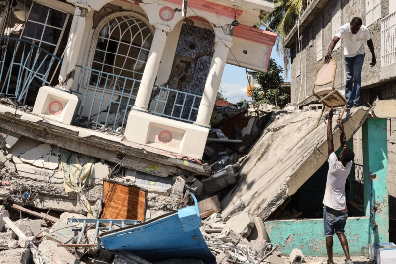 Double whammy for Haiti: earthquake followed by tropical depression surges the death count