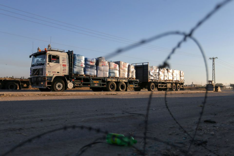 Israel Eases Commercial Restrictions Over Gaza Strip