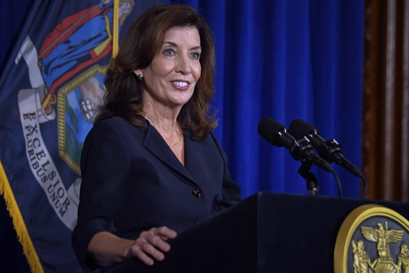 Kathy Hochul Takes Charge in Crisis Mode as New York's new governor