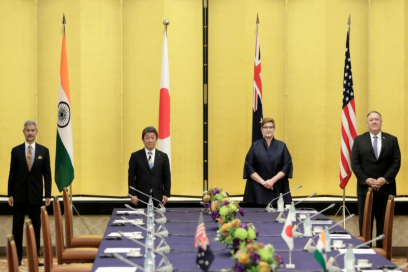 Officials of Quad nations hold talks amid China's rising aggression in Indo-Pacific