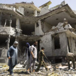 taliban claim attack on minister's compound