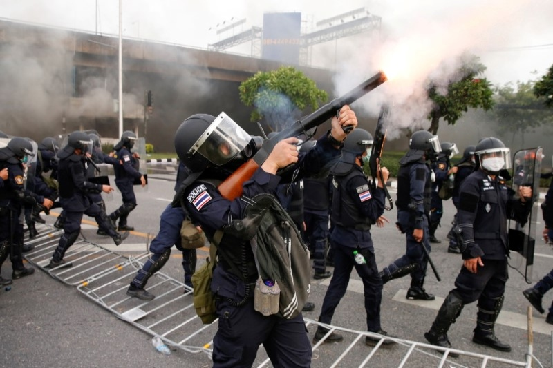 Thai police say use of force unavoidable as protesters plan new rally