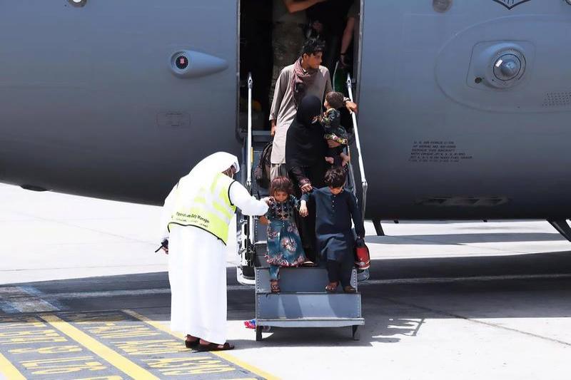 UAE leads global humanitarian efforts in Afghanistan