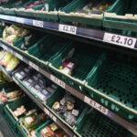 uk half empty supermarkets