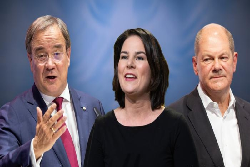 Germany elections, the first confrontation between the three candidates
