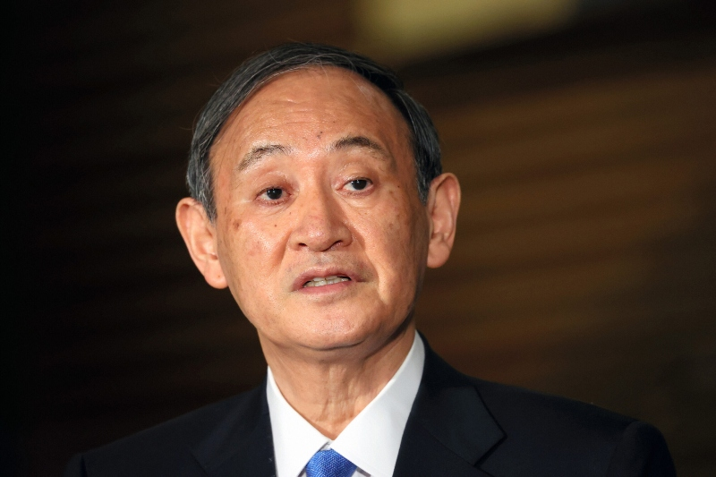 Japanese PM announces not to run in the party leadership race