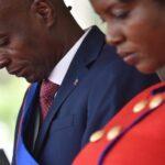 wife of slain haitian president