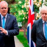 australian office might have pushed britain to drop paris agreement out of its free trade deal