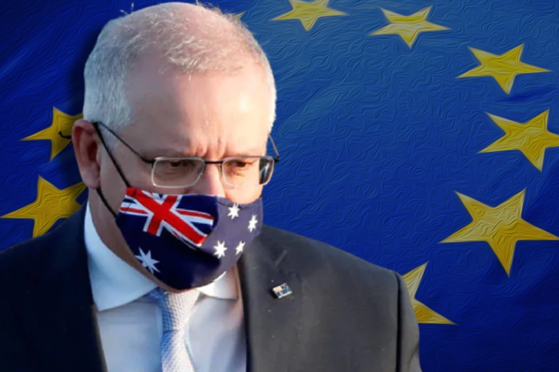 eu demands apology from australia over its treatment of france