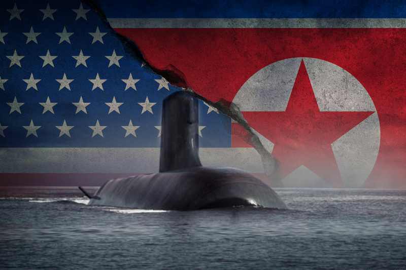 north korea threatens australia again now its about buying nuke submarines from america