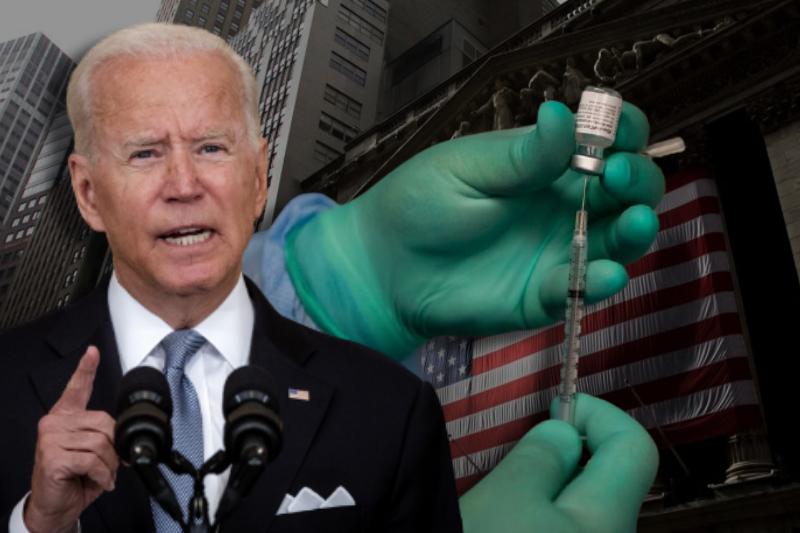 "Turn the Tide of Covid-19"": Biden  announces Vaccine Mandate to Cover Over 100  Million Americans"
