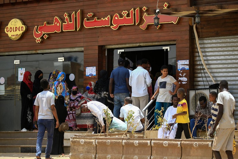 Bread Shortage seen in Sudan due to Mass Protest
