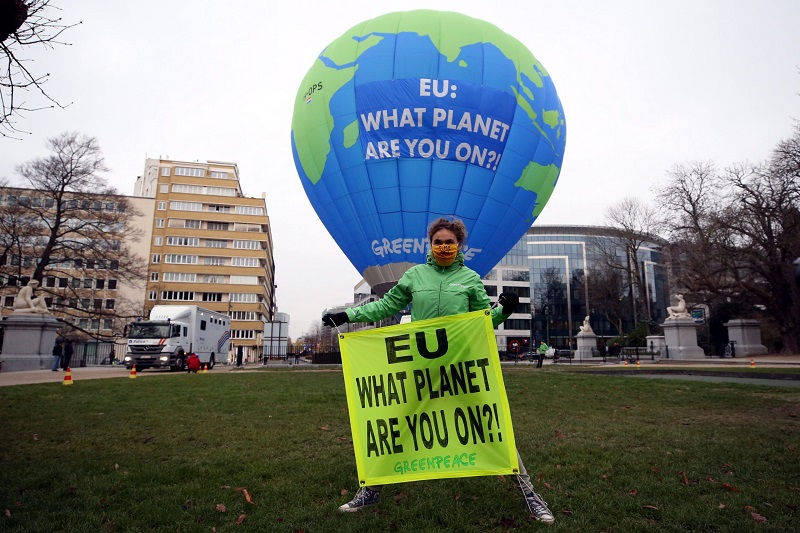 Framing of Green politics in Europe ahead of climate change