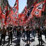 italy neo fascist and squadron violence explodes in rome