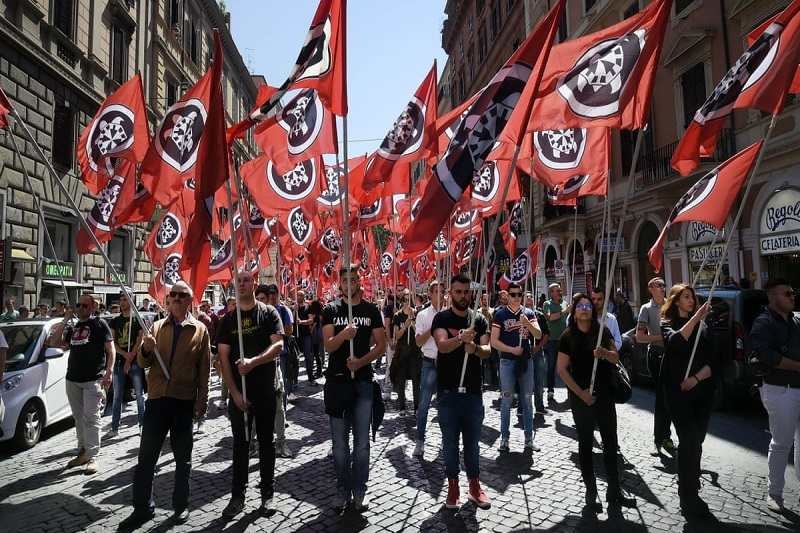 Italy: Neo-Fascist and Squadron Violence Explodes in Rome