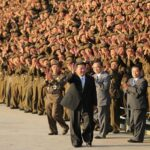pinning blame on us for chaos in region kim jong un vows to assemble an irrepressible military