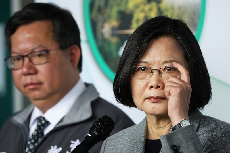 Taiwan Is In No Mood To Bow Down To Chinese Pressure: President Tsai Ing Wen